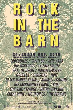 ROCK IN THE BARN, Giverny (27620), Haute-Normandie