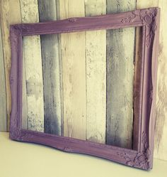 Open frame, empty frame, picture frame prop, photo frame prop, photo prop frame, chalk painted frames, backless frame, baroque frame by AlysonsShabbyHome on Etsy