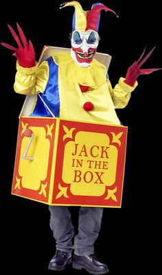 jack in the box costume - Google Search