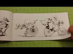 The coloring with your octopus by brian kesinger adult coloring book review flip through - YouTube