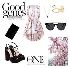 goension by dobra-01 on Polyvore featuring мода, Miu Miu, Charlotte Olympia, Sole Society and Smoke & Mirrors