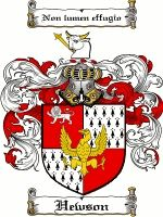 This is my family crest.  I can trace my father's descendents back to Tudor times when they lived in York.  The motto means 'I do not shun the light.'  There is also an Irish family crest as they settled there in the late 1600s