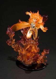 20cm Figuarts ZERO Uzumaki Naruto Kurama Kizuna Relation Figurines Statue