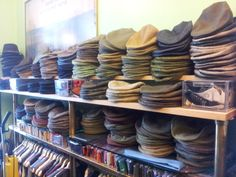 David Saxby tweed caps in stock in Fulham