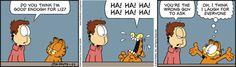 Garfield Comic Strip January 22 2016 on GoComics.com