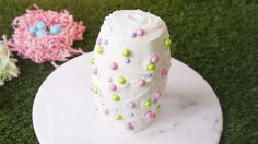 This Candy-Filled Surprise Cake Recipe Has Us Super Excited for Easter