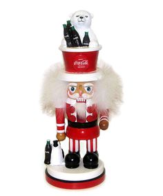 This Coke Nutcracker by Kurt Adler is perfect! #zulilyfinds