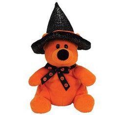 TY Beanie Baby - HAUNTS the Bear (Borders Exclusive) (7 inch) MWMT's Stuffed Toy