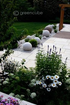 cottage garden kidderminster traditional garden design melbourne paysagiste ide amnagement jardin fleur jardin - Idee Jardin