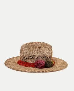 ZARA - WOMAN - RAFFIA HAT