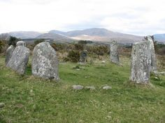 Derrintaggart West Stone Circle, Ireland - a very potent one I meditated at for integrative healing