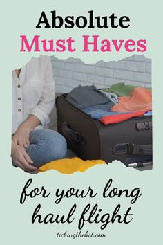Anything that can help me relax and feel more comfortable on a long haul flight is an essential for me. Check out my list of essentials here.