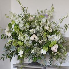 Great day in the studio creating a gorgeous wedding for @clockbarn tomorrow with some of our favourite flowers from the winter season. It was also the first double socks and four layers of tops Day! It seemed like only yesterday we had the air con on. Heres a late Autumn piece from@a couple of weeks ago @millbridgecourt