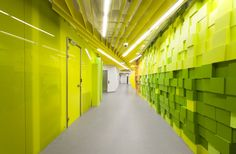 Second office for Yandex in Saint Petersburg, Russia by Za Bor Architects