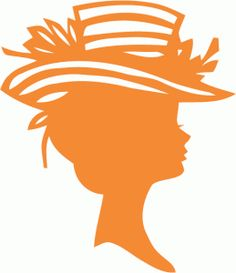 Silhouette Design Store - View Design #42491: vintage hat lady silhouette Vintage Silhouette, Woman Silhouette, Silhouette Design, Silhouette Portrait, Silhouette Cameo Projects, Stencil Patterns, Stencil Templates, Stencils, Shape Templates