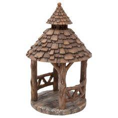 Vivid Arts Wooden Gazebo Architectural Features