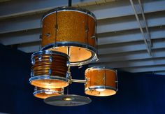 Drum chandelier #upcycle