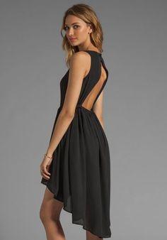 JARLO Allondra Tank Dress in Black - New