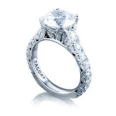 Tacori RoyalT HT2623 Round Engagement Ring Setting