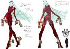 Platinum Games Shares Bayonetta 2 Concept Art, Explains Haircut - Bayonetta 2 - Wii U - www.GameInformer.com
