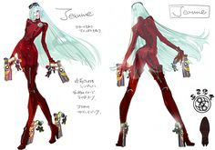 Platinum Games Shares Bayonetta 2 Concept Art, Explains Haircut - Bayonetta 2 - Wii U - www.GameInformer.com