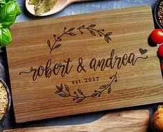 Personalized Cutting Board, Custom Cutting Board , Unique Wedding gift