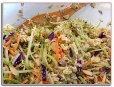 Asian Chicken Salad Recipe With Ramen Noodles.Healthy Ramen Noodle Salad With Chicken IFOODreal . Asian Ramen Noodle Chicken Salad The Chunky Chef. 15 Easy Recipes For A Crowd My Life And Kids. Home and Family Asian Chicken Salads, Chicken Salad Recipes, Ramon Noodle Salad Recipes, Cabbage Salad Recipes, Ramen Noodle Recipes, Asian Recipes, Healthy Recipes, Delicious Recipes, Ethnic Recipes