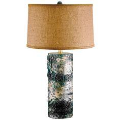 Lamp Works // Aspen Birch Bark Table Lamp ~ DIY