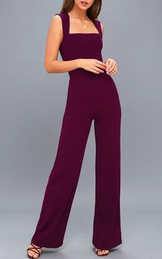 dd405fba2f16 21 Best Purple Jumpsuits and Suits images