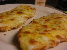 Definitely making this for Super bowl!! Jalapeno cheese bread - easy version:  8 oz pepper jack cheese, grated, 1/2 stick melted butter, 1/2 cup mayonnaise, french bread loaf... mix 1st three, split bread lengthwise, spread with mixture and bake at 400 till bubbly.