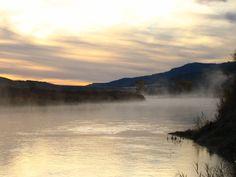 River Mist by Illiovaca.deviantart | Green River Browns Park, Utah