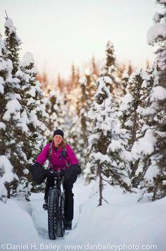 Winter mountain biking? OK!