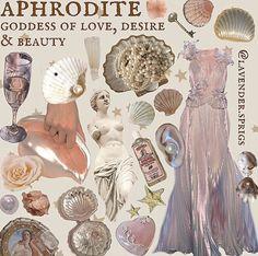 Greek Goddess Art, Aphrodite Goddess, Greek Gods And Goddesses, Goddess Of Love, Greek Art, Greek Mythology, Wiccan, Witchcraft, Aphrodite Aesthetic