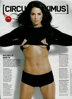 Michelle borth hot very valuable