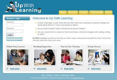 Up With Learning - content management system, web design, logo design, ecommerce, xhtml/css