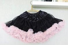 czarno- różowa Tulle, Girls, Pink, Fashion, Toddler Girls, Moda, Daughters, Fashion Styles, Tutu