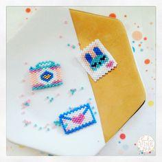 Broches en perles tissées https://www.etsy.com/fr/shop/luluandthelittlepea