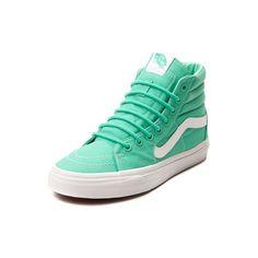 Vans Sk8 Hi Skate Shoe ($5,499) ❤ liked on Polyvore featuring shoes, sneakers, skate shoes high tops, vans footwear, rubber shoes, high top sneakers and vans sneakers