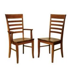 Amish Furniture, Dining Furniture, Dining Chairs, New Builds, Side Chairs, Craftsman, Hardwood, Armchair, Cherry