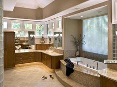 banheiros com banheiras - Pesquisa Google