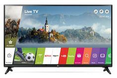 "LG 49LJ5500 49"" Full HD Smart TV Wifi Negro televisor LED"