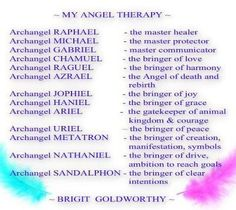 archangels names and meanings - Visicom Yahoo Image Search Results Archangel Raguel, Archangel Jophiel, Names Of Angels, Angel Names List, Archangels Names, List Of Archangels, Reiki, Archangel Prayers, Angels Touch