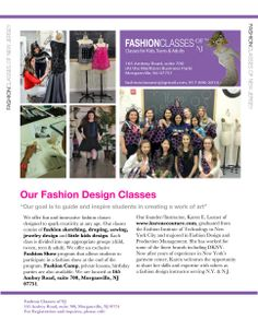Fashion Design And Sewing Classes In Nj