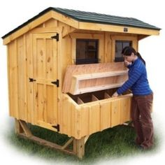 A common misconception making the rounds is that building a good chicken house for your backyard or garden usually takes several weeks and is...
