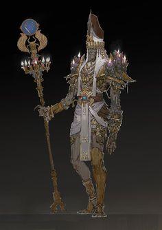 ArtStation - Path of Fire- Undead army, Carlyn Lim
