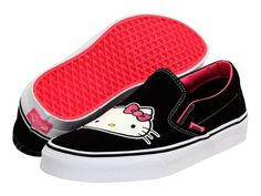 New VANS Hello Kitty Slip-on Fashion Sneakers size 10.5 or 11 please