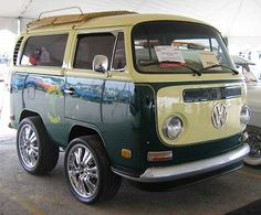 1970 VW bus shortened by 4 ft...love it! except the wheels :/