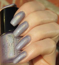 Green, Glaze & Glasses: Catrice Luxury Lacquers LE - Holomania C04 Plum Me Up Scotty