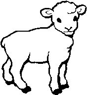 clipart of the precious lamb of god | BeholdThe Lamb of God!