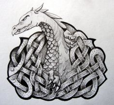 dragon knot by ~knotty-inks on deviantART
